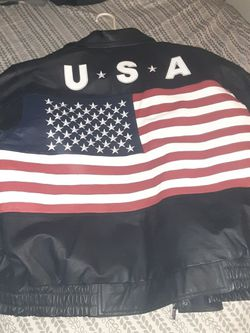 A Vintage Vilanto Leather Jacket, 100 % Leather Brand New ... Only Asking $25 for Sale in San Bernardino,  CA