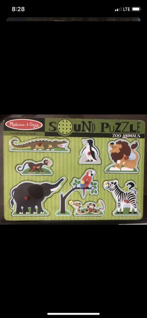 Sounds puzzle game for Sale in Costa Mesa, CA