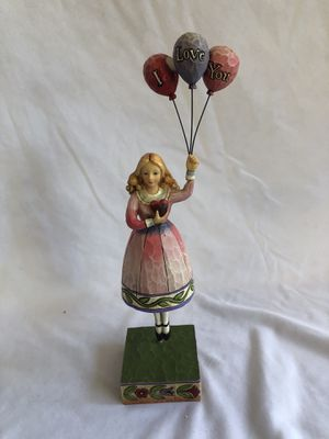 """JimShore Heartwood Creek """"Girl with Balloons"""" for Sale in Litchfield Park, AZ"""