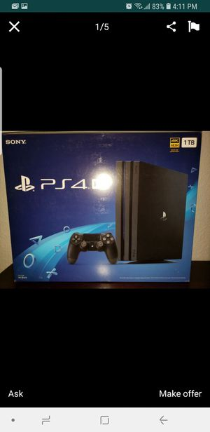 Ps4 pro for Sale in Richardson, TX