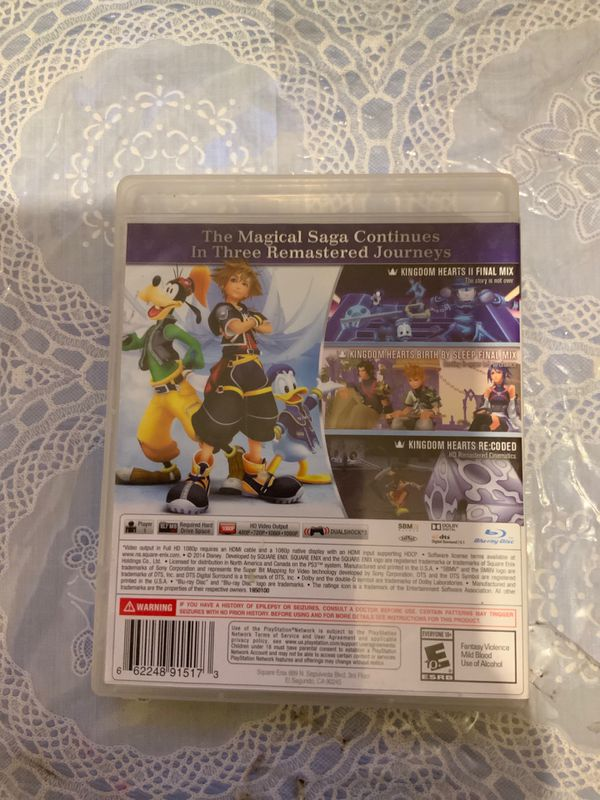 Kingdom Hearts 2.5 Remix (PS3 game)
