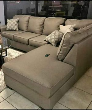 💲39 Down Payment 🍃 Calicho Cashmere RAF Sectional 237 for Sale in Jessup, MD