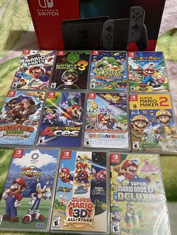 """Nintendo Switch Bundle """" Selling as bundle only """" for Sale in Miami,  FL"""