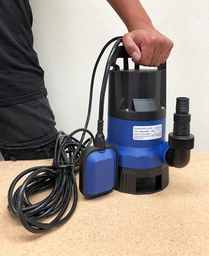 (NEW) $40 Submersible 1/2 HP 2112GPH 400W Water Pump Swimming Pool Dirty Flood Clean Pond for Sale in Whittier, CA