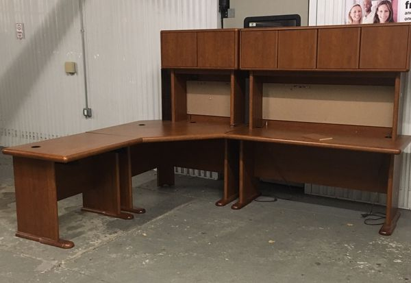 Wrap Around Executive Desk