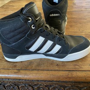 Adidas black suede 7.5 hightops for Sale in Goodyear, AZ