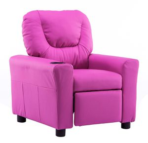 Mcombo Kids Recliner Armchair Children's Furniture Sofa Seat Couch Chair w/Cup Holder 7240 Pink for Sale in Commerce, CA