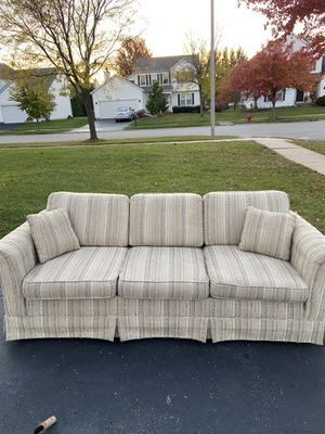 Free couch for Sale in Shorewood, IL