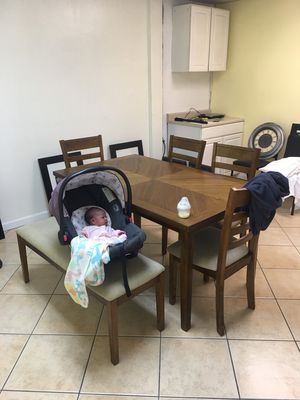 Ashford II 6 Piece Dining Set for Sale in Chino, CA