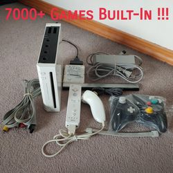 Modded Wii Bundle with 7000+ Games for Sale in Seattle,  WA
