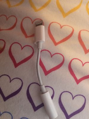 apple earbuds connector for Sale in Davie, FL