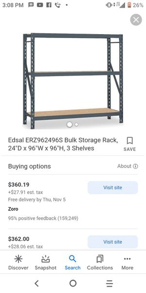 Edsal 1500lb Muscle industrial shelving for Sale in Escondido, CA