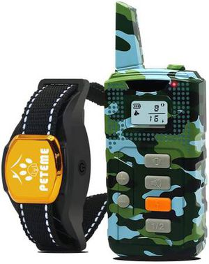 Shock Collars for Dogs with Remote, Dog Shock Training Collar Rechargeable with Beep/Vibration/16 Shock Levels,100% Waterproof, 1200ft Remote Trainer for Sale in Pomona, CA