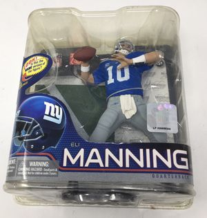 Eli Manning McFarlane Toy NFL Series 26 Action Figure for Sale in Margate, FL