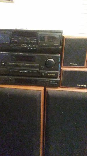 Stereo system with surround sound for Sale in Newport News, VA