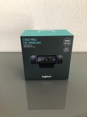 Logitech C920 HD Webcam for Sale in Las Vegas, NV
