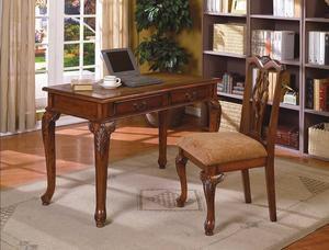 Fairfax Brown Home Office Desk & Chair Set | 5205 for Sale in Austin, TX