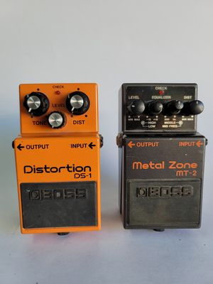 Boss DS-1 MT-2 guitar effect pedal for Sale in Lomita, CA