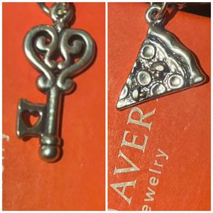 James avery charm Pizza and key Lot! :) for Sale in San Antonio, TX