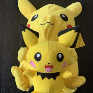 "$25 24"" Picachu And Pichu Stuff Animals for Sale in San Rafael, CA"