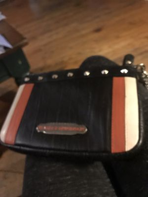 Harley Davidson purse and boots, leather women small riding jacket for Sale in Groveport, OH
