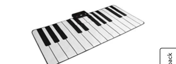 FAO Schwartz Giant Dance Piano