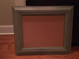 Framed Corkboard for Sale in Columbus, MS