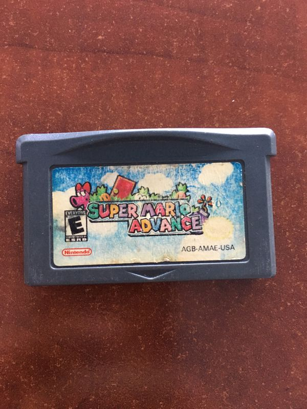 Game Boy Advance SP AGS-101 + Super Mario Advance + Charger