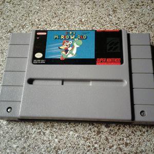 Super Mario World- SNES for Sale in Dallas, TX