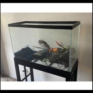 29 Gallon Fish Tank Black for Sale in San Jose, CA