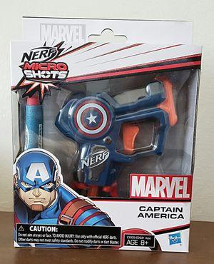 Marvel Captain America Nerf for Sale in Fremont, CA