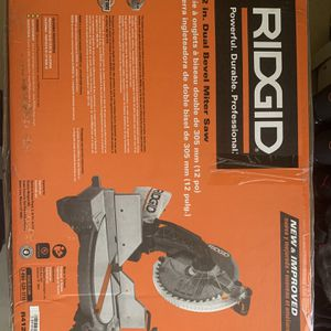 Ridgid Dual Bevel Miter Saw for Sale in Hartford, CT
