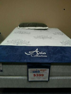 2 twin beds sets new can deliver pillow top for Sale in Tampa, FL