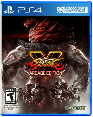 Street fighter V (ps4) for Sale in Los Angeles, CA