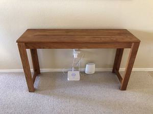 Solid oak sofa table for Sale in Chandler, AZ