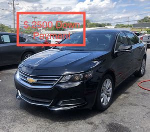 2017 Chevy Impala $ 2500 Down Payment for Sale in Nashville, TN