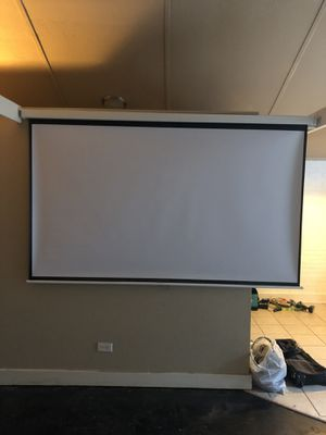 94 inch wide Projector Screen for Sale in Denver, CO
