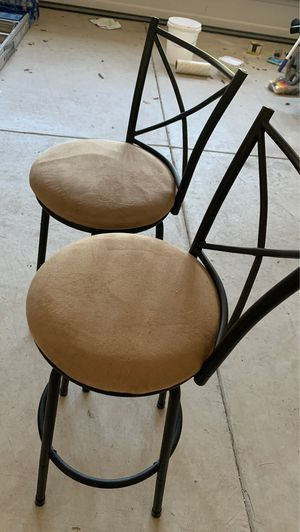 Two bar stools for Sale in Sanford, NC