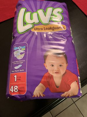 LUVS PAMPERS for Sale in Lakeland, FL