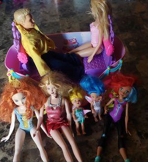 Kids toys Barbies for Sale in Clovis, CA