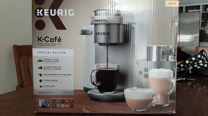 Keurig K-Cafe Single Serve Coffee, Latte & Cappuccino Maker for Sale in Fresno, CA