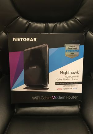 Netgear Nighthawk Cable Modem Router for Sale in Bakersfield, CA