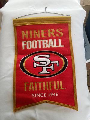 SF 49's vertical flags for Sale in Rustburg, VA