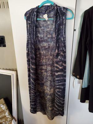 Chicos long navy cardigan for Sale in Allen Park, MI