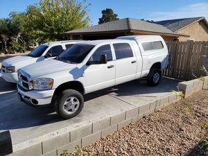 Megacab camper shell for sale for Sale in Las Vegas, NV