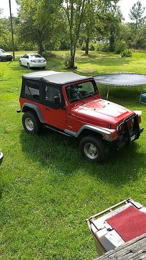 1997 jeep wrangler for Sale in Hortense, GA
