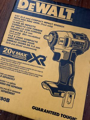 "Dewalt 3/8"" compact impact wrench for Sale in Richmond, CA"