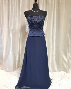 NAVY BLUE PROM , SPECIAL OCCASION, WEDDING, PARTY DRESS for Sale in Palmdale, CA