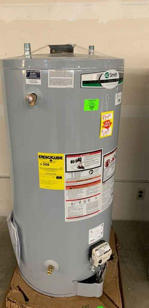 74 gallon AO Smith water heater with warranty VYTCW for Sale in Dallas, TX