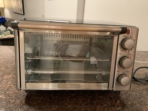 Black & Decker 6-slice convection toaster oven LIKE NEW for Sale in Chicago, IL